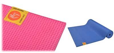 Tapis de yoga Chin Mudra confort bio non toxiques