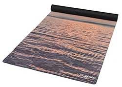 image d'eau sur le tapis de Yoga COMBO MAT