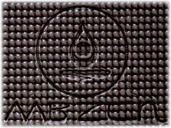 détail du Tapis de Yoga MB Zen Sports avec son logo