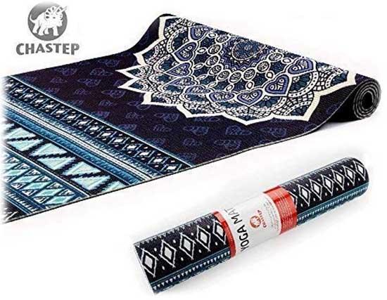 Présentation du tapis de yoga Chastep - Tapis non-toxique de 6 mm d'épaisseur