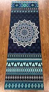 Voici le rendu du tapis de yoga Chastep sur du parquet, il est pas joli ??