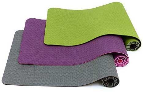 les différents coloris du tapis de Yoga Eco Natura