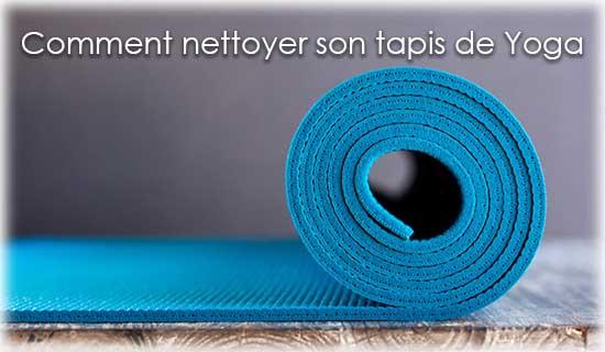 Comment réaliser un lavage de son tapis de yoga, guide et astuces avec des sprays !