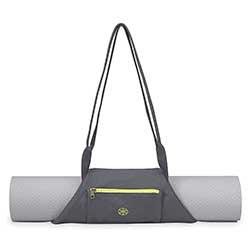 Le sac de YOGA Gaiam, parfait pour votre tapis de yoga, il s'adapte à tous les modéles de tapis
