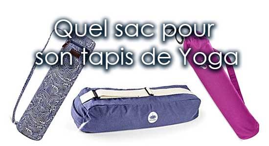 Guide complet pour bien choisir son sac de yoga (pour son tapis de yoga)