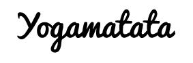 Tapis de yoga Yogamatata